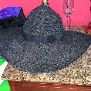 Cute Black Beach Hat